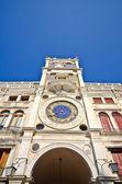 Zodiac clock, Venice — Stock Photo