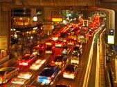 Spitsuur, bangkok — Stockfoto