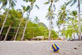 Volley Ball on Beach — Stock Photo