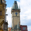 Town Hall tower, Prague — Stock Photo