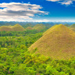 Chocolate hills, Philippines — Stock Photo