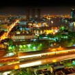 Royalty-Free Stock Photo: Bangkok night panorama