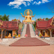 Big Buddha statue on Koh Samui island - Stock Photo