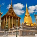 Temples in Wat Phra, Bangkok, Thailand — Stock Photo
