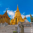 Grand Palace and Stupa, Bangkok, Thailand - Stock Photo
