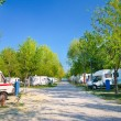 Stock Photo: Camping site