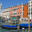 Stock Photo: Gondolas in Venice