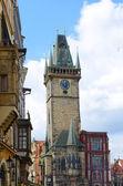 Stadhuis toren, Praag — Stockfoto