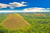 Chocolate Hills, Philippines — Stock Photo