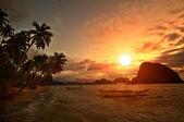 Vivid Getaway Sunset — Stock Photo