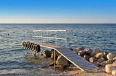 Muelle de madera — Foto de Stock