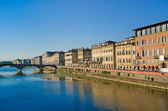 Arno river, Florence — Stock Photo