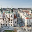 St. Nicholas Church , Prague — Stock Photo