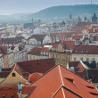Foto Stock: Prague roofs