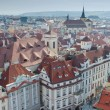 Prague roofs — Stock Photo #8334194