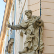 Royalty-Free Stock Photo: Statue of a Saint, Little Quarter, Prague, Czech Republic