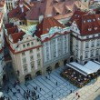 old town square, prague — Stock Photo