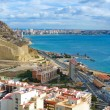 Alicante beach - Stock Photo
