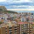 Santa Barbara Caste, Alicante, Spain - Stock Photo
