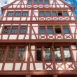 Half timbered house in Frankfurt on Main - Stock Photo