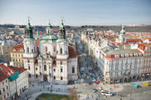 St. Nicholas Church , Prague — Stock Photo