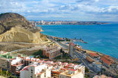 Alicante beach — Stock Photo