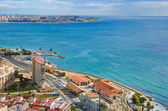 Alicante Meer panorama — Stockfoto