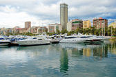 Harbour in Alicante — Stock Photo