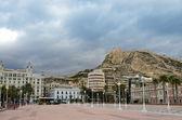 Santa Barbara castle, Alicante — Stock Photo