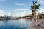 Marina in Alicante — Stock Photo