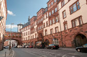 Historical city center of Frankfurt-on-Main, Germany — Stock Photo