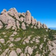 Montserrat mountains, Spain - Stok fotoraf