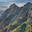 Montserrat mountains, Spain - Stok fotoğraf