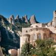 Stock Photo: Montserrat Monastery, Spain