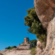 Stock Photo: Hermitage of Saint Joan in Montserrat Mountain, Spain
