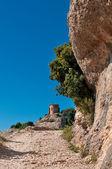 Hermitage of Saint Joan in Montserrat Mountain, Spain — Stock Photo
