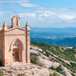 Saint Joan hermitgage, monastery of Montserrat, Spain - Stock Photo