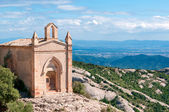 Saint Joan hermitgage, monastery of Montserrat, Spain — Stock Photo