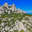 Montserrat mountains, Spain - Stock Photo