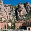 Santa Maria de Montserrat, Spain — Stock Photo
