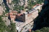 Montserrat monastery - a benedictine abbey, Catalonia, Spain — Stock Photo