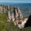 Montserrat Monastery view, Spain — Stock Photo