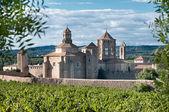 Monastery of Santa Maria de Poblet, Catalonia — Stock Photo