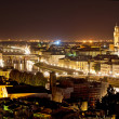 Florence at night - Stock Photo