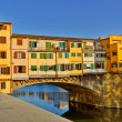 Ponte Vecchio bridge in Florence - Stock Photo
