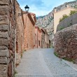 Old street, Collbato, Spain — 图库照片