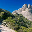 Stock Photo: Montserrat mountains, Catalonia, Spain