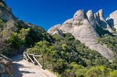 Montserrat mountains, Catalonia, Spain — Stock Photo