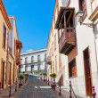 Street in Spain, La Orotava, Canary islands — Stock Photo