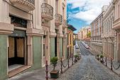 Street in La Orotava, Canary islands, Spain — Stock Photo